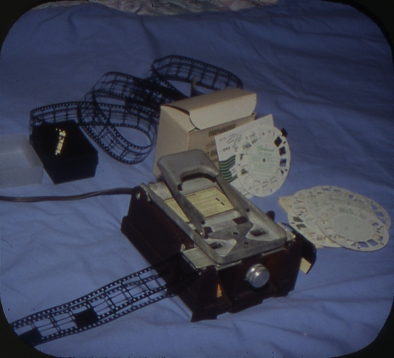 View-Master Personal Reel Cutting